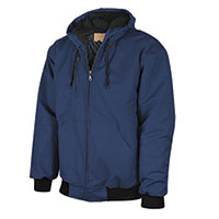 Walls Men's Duck Canvas Jacket - Navy