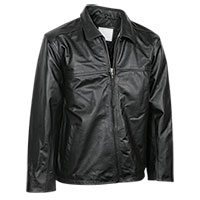 Burks Bay Men's Leather Driving Jacket