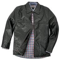 Men's Burks Bay Textured Driving Jacket - Black