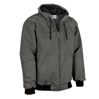 Men's Casual Country Duck Work Jacket - Gray