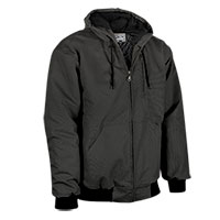 Men's Casual Country Duck Work Jacket - Black