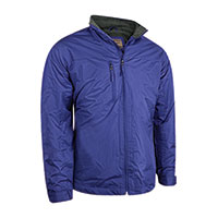 Cold Storage Men's Fleece Lined Drop Tail Jacket - Navy