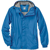 Storm Creek Blue Nylon Waterproof Rupert Jacket