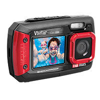 Vivitar Waterproof Shockproof Dual Camera
