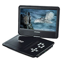 Sylvania 10 Inch Portable Swivel DVD Player