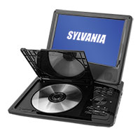 Sylvania SDVD9019 Swivel Screen 9 Inch Portable DVD Player