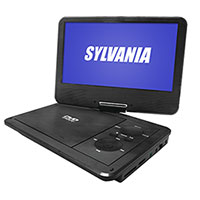 Sylvania SDVD9019 Swivel Portable DVD Player
