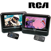 RCA DRC6272E22 Twin Mobile DVD System