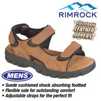 Brown Leather Strap Sandal