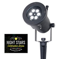 Night Stars Holiday Charms Projection Lights