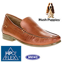 Hush Puppies Mens Tan Circuit Shoes