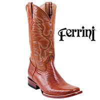 Men's Ferrini Teju Lizard Boots