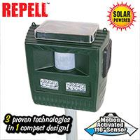 Open Box 3-in-1 Solar Animal Repeller