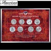 History of United States Nickels Coin Collection