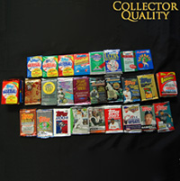 25 Years of Baseball Cards