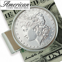 Sterling Silver Morgan Dollar Moneyclip