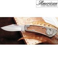 1943 Lincoln Steel Penny Pocket Knife