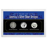 American Coin Treasures Silver Dimes