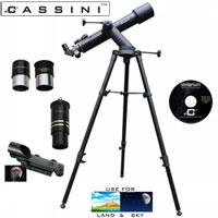 Tracker Refractor Telescope Kit - 600 x 90