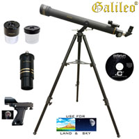 Refractor Telescope Kit - 800 x 72
