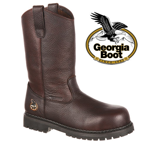 Georgia Wellington Steeltoe Boots