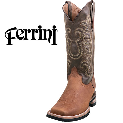Ferrini French Calf Western Boots