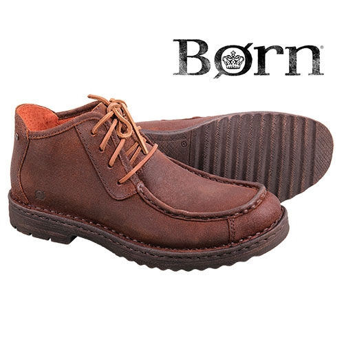 Born Men's Brown Roy Chukka Boots