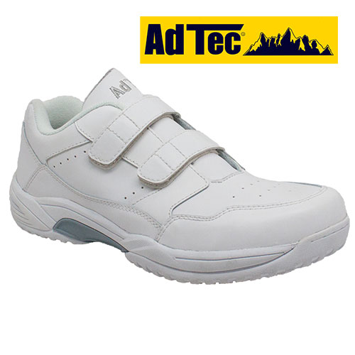 AdTec White Slip-Resistant Shoes