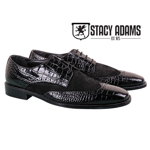 Stacy Adams Men's Black Arturo Oxfords