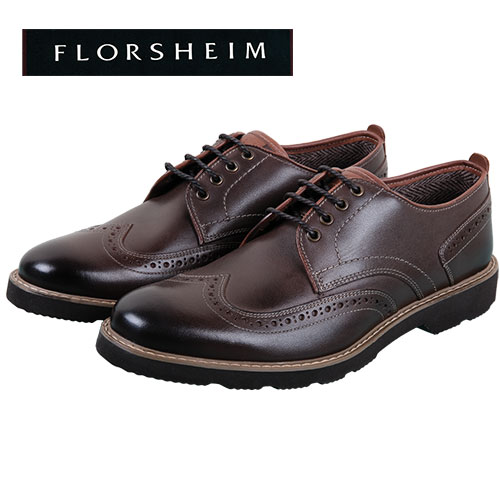 Florsheim Men's Brown Casey Wingtip Shoes