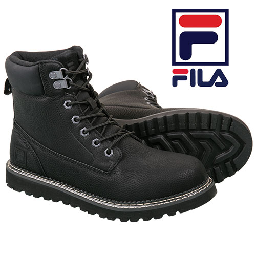 Fila Men's Black Madison Boots