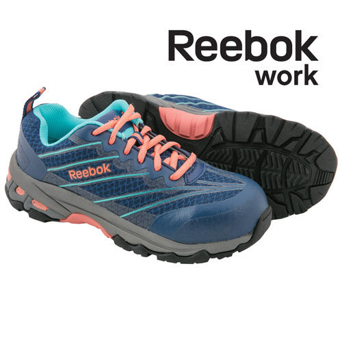 Reebok Women's Blue Micro-Mesh Work Shoes