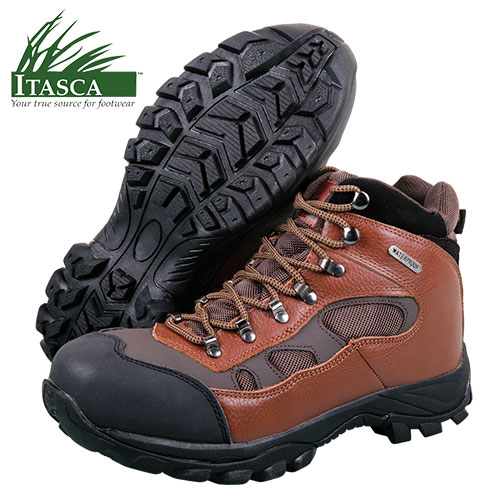 Itasca Men's Brown Contractor Boots