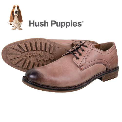Hush Puppies Men's Tan Rohan Rigby Shoes