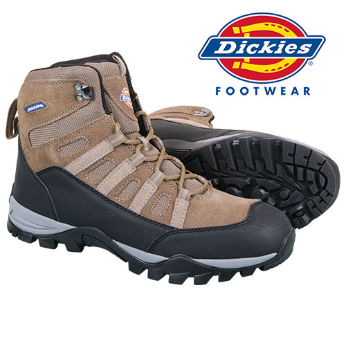 Dickies Men's Taupe Work Boots