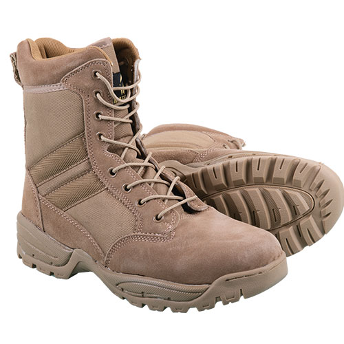 Coyote Men's Brown Tactical 8 Inch Boots