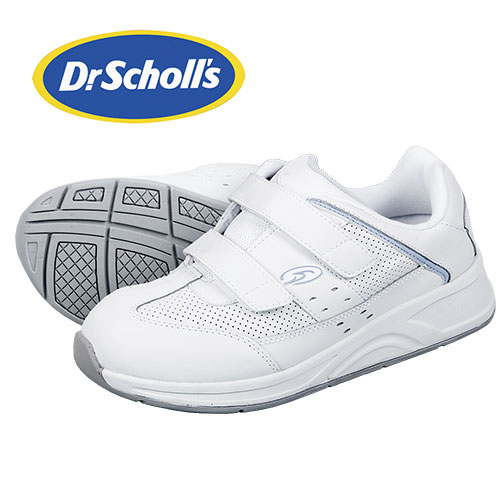 Dr. Scholls Women's White Kellie Therapeutic Shoes