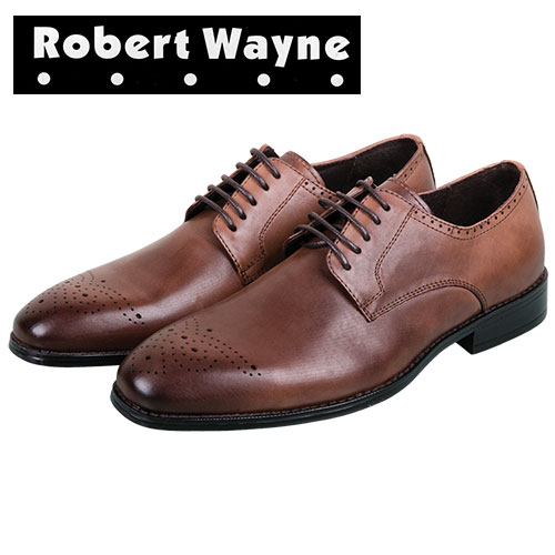 Robert Wayne Tobacco Men's Vesper Derby Oxfords