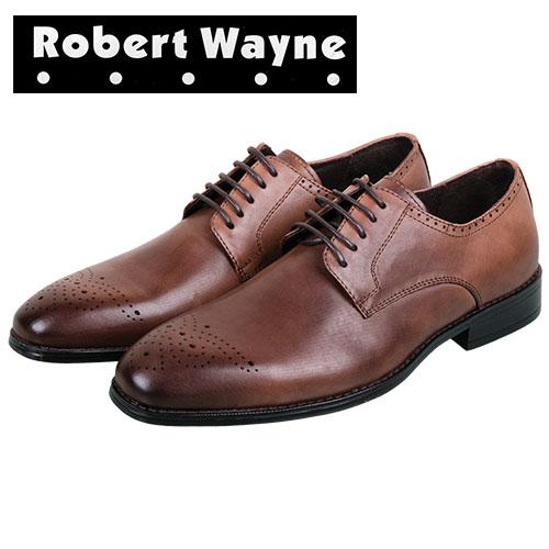 Robert Wayne Tobacco Mens Vesper Derby Oxfords