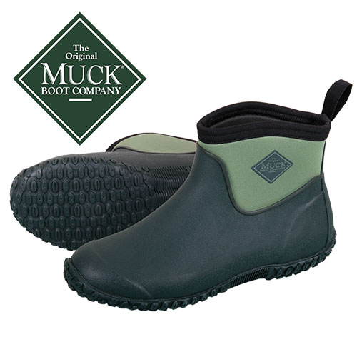 Muckster II Women's Green Ankle Boots