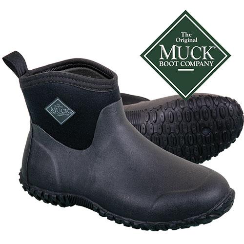 Muckster II Men's Black Ankle Boots