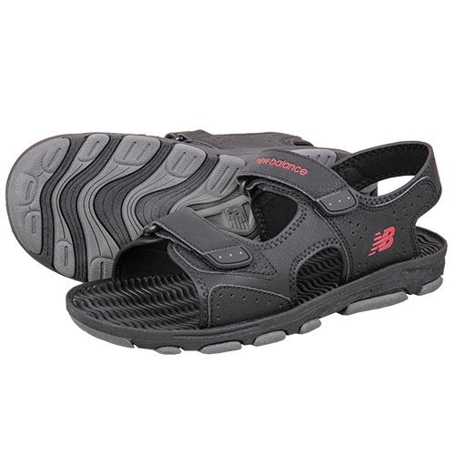 New Balance Men's Dark Grey Canyon Sandals