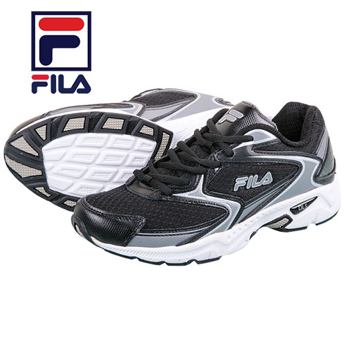 Fila Men's Black Xtent Running Shoes
