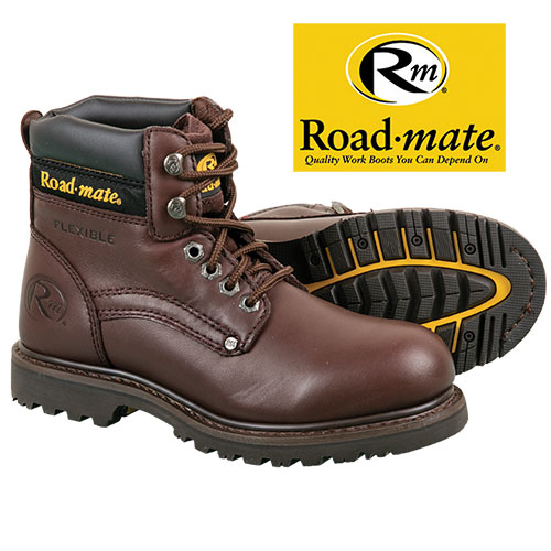 Roadmate Men's Brown Work Boots