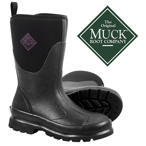 Muck Women's Black Chore Mid Boots