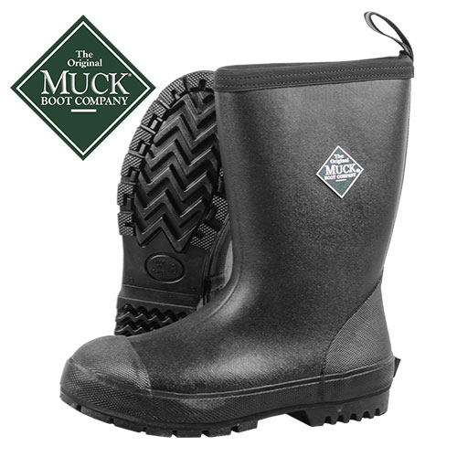 Muck Men's Black Resist Mid Boots
