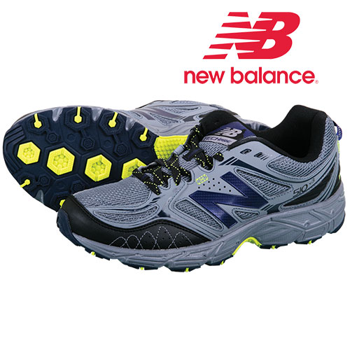 New Balance Men's Grey Trail Shoes