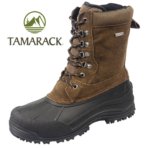 Tamarack Men's Brown Tundra Boots