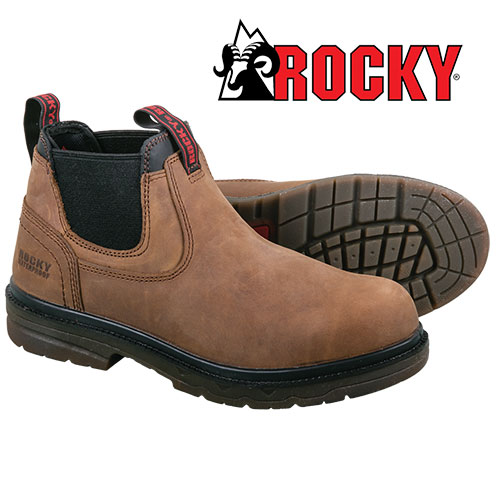 Rocky Men's Brown Romeo Work Boots
