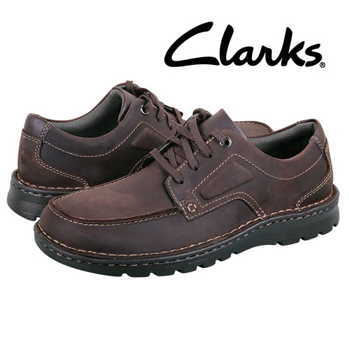Clarks Men's Brown Vanek Apron Casual Shoes